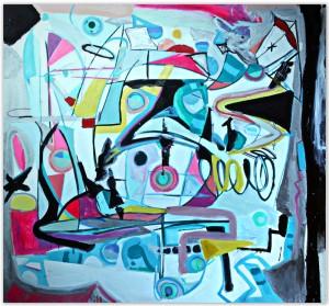 Carly Ivan Garcia Artwork : Daydream Free