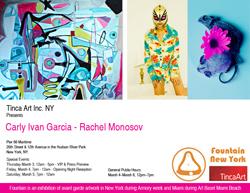 Tinca Art Presents Carly Ivan Garcia & Rachel Monosov