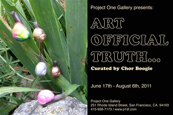 THE ART OFFICIAL TRUTH: Curated by Chor Boogie
