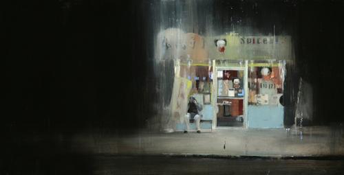Brett Amory Artwork : Waiting #81