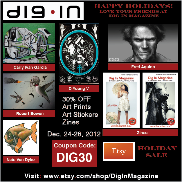 Happy holidays from Dig In Magazine