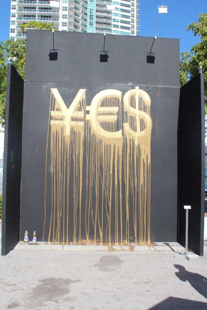 De Buck Gallery at Art Miami, Miami Zevs Mural, Liquidated Yes