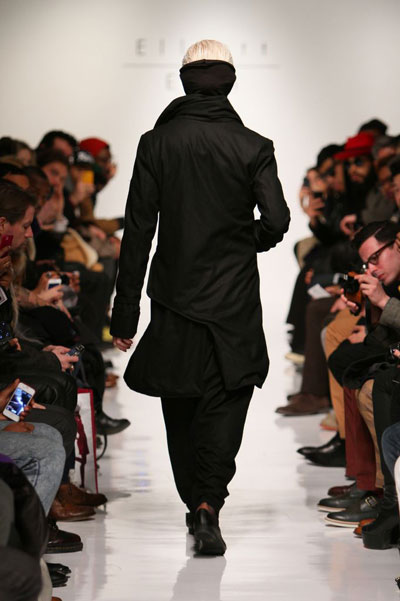 Elliott Evan - Menswear Fall 2013 - Runway | Photo by Anton Oparin