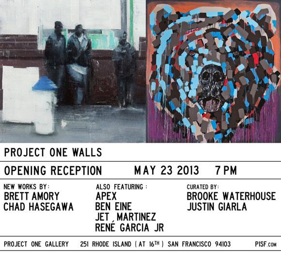 Project One Walls: Brett Amory & Chad Hasegawa