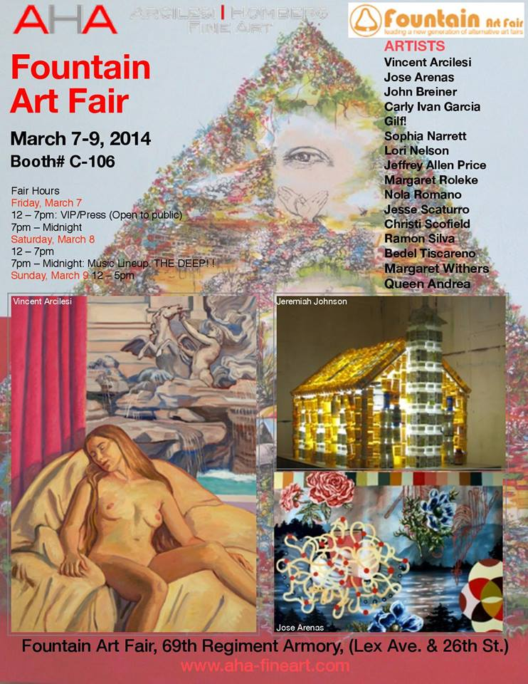 Arcilesi Homberg Fine Art Comes to Fountain Art Fair