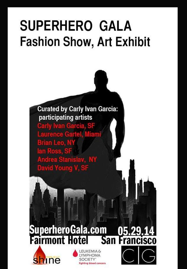 Superhero Gala Fashion Show and Art Exhibit
