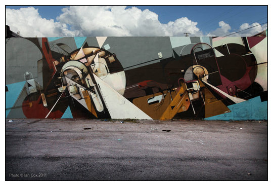Augustine Kofie of West Coast Artists Crew - Wynwood 2011