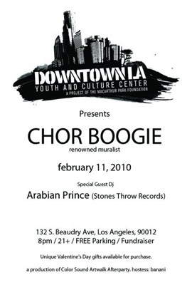 Downtown Los Angeles Youth and Culture Center Event