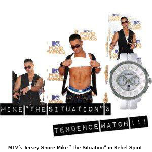"MTV's Jersey Shore Mike ""The Situation"" rockin' a Rebel Spirit Vest"