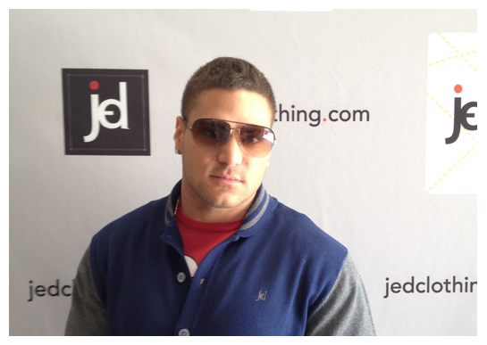 Jersey Shore's Ronnie Magro-Ortiz for JED Clothing