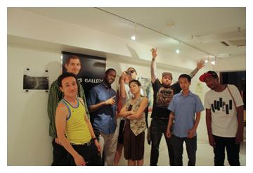 John Felix Arnold III Tokyo Japan art crew