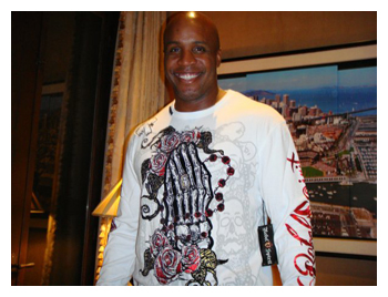 Barry Bonds in Rebel Spirit Clothing