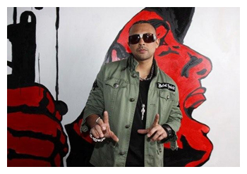 Sean Paul in Rebel Spirit Clothing