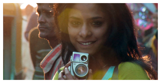 PATANG | Photo: Khushi Films | Priya (Sugandha Garg) and her camera