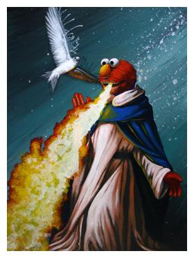 Robert Bowen Art: St. Elmo's Fire