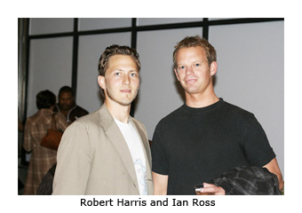 robert ross relationship with harris