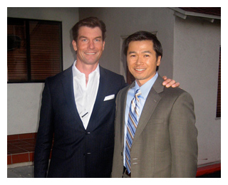 Robert Wu with Jerry O'Connell