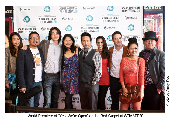 World Premiere of 'Yes, We're Open' at SFIAAFF30 | Photo by Andy Kao