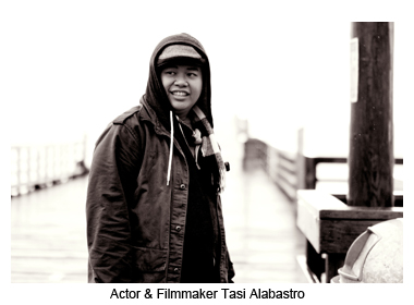 Actor and Filmmaker Tasi Alabastro