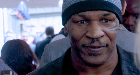 2014 Tribeca Film Festival: Mike Tyson, Evander Holyfield, Ice-T at CHAMPS World Premiere