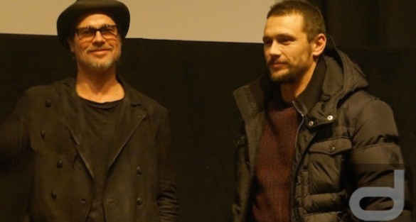 Sundance: TRUE STORY with James Franco & Brad Pitt