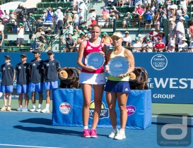 Kerber Wins First Bank of the West Title