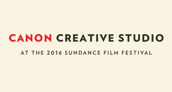 Sundance 2016 Canon Creative Studio: Warm Up & Chill Out