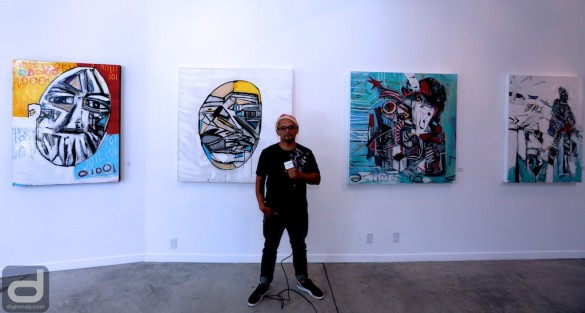 Interview with Artist Carly Ivan Garcia at ZSCA Gallery