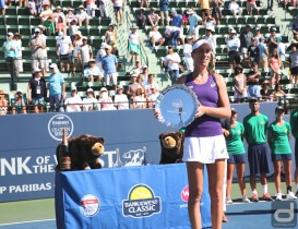 Konta Captures Bank of The West Classic Title