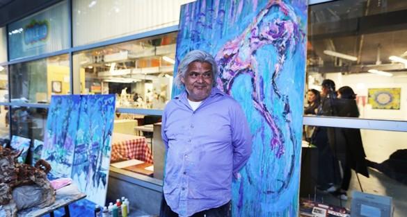 [VIDEO] Artist Al Preciado on art and his inspirations