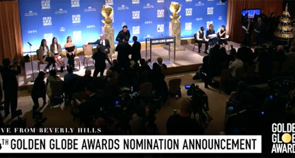 74th Annual Golden Globe® Awards Airs LIVE Sunday, Jan. 8th