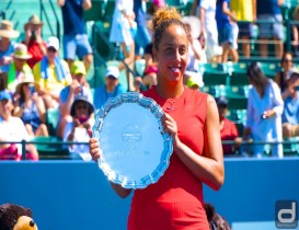 Madison Keys Wins Bank of the West Classic Championship