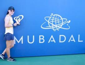 Zheng Saisai claims Mubadala Silicon Valley Championship