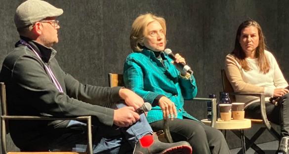 Hillary Clinton discusses her 'Hillary' Hulu docu-series