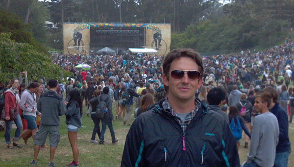 "Ricky Watts at ""Outside Lands"""