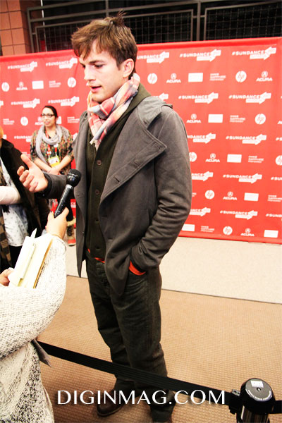 Ashton Kutcher | JOBS Interview | Sundance 2013 | Copyright Cindy Maram/Dig In Magazine