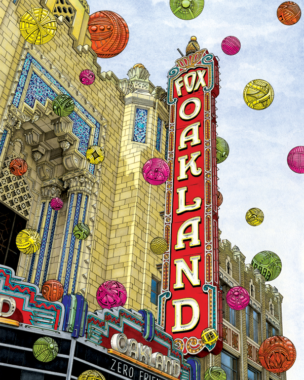 """Oakland"" by Ricky Watts"