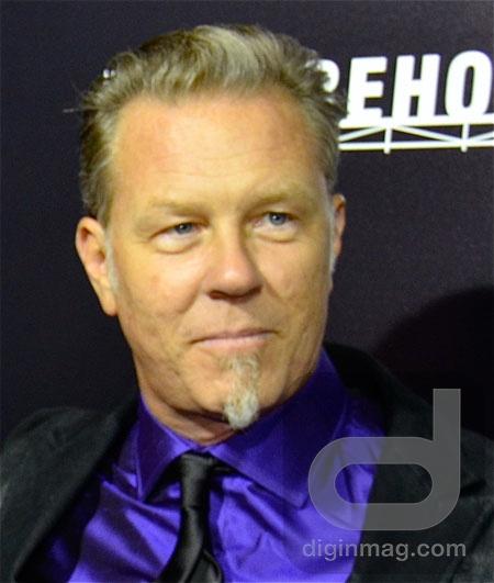 U.S. Premiere of Metallica: Through the Never | James Hetfield
