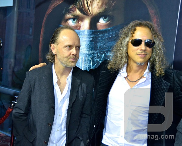 U.S. Premiere of Metallica: Through the Never | Lars Ulrich and Kirk Hammett