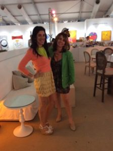 Esther and Shelly Nash at Art Basel Miami Beach