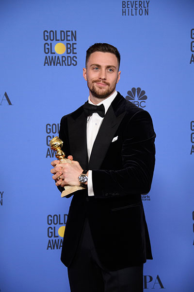 "Hollywood Foreign Press Association | ""Nocturnal Animals,"" actor Aaron Taylor-Johnson"