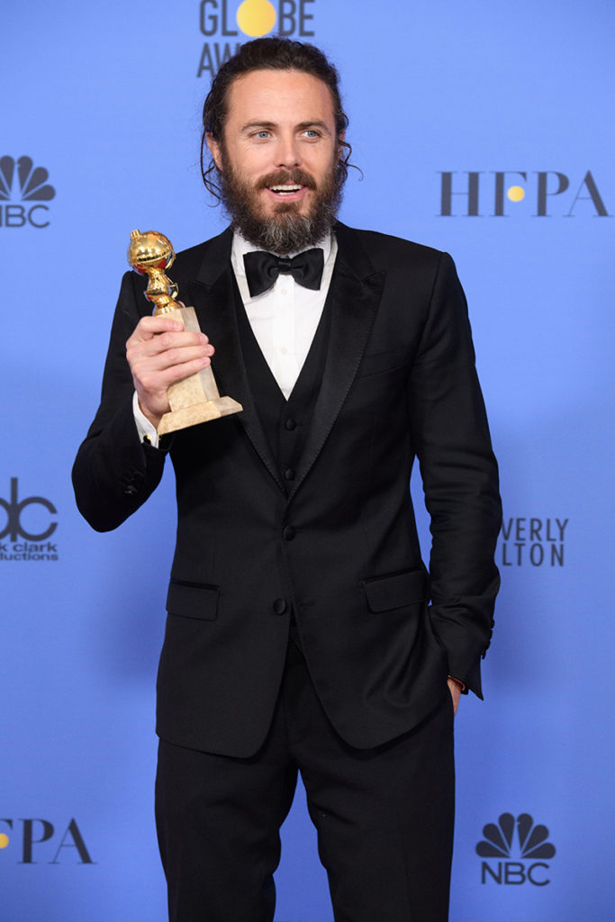 "Hollywood Foreign Press Association | actor Casey Affleck | ""Manchester by the Sea"""