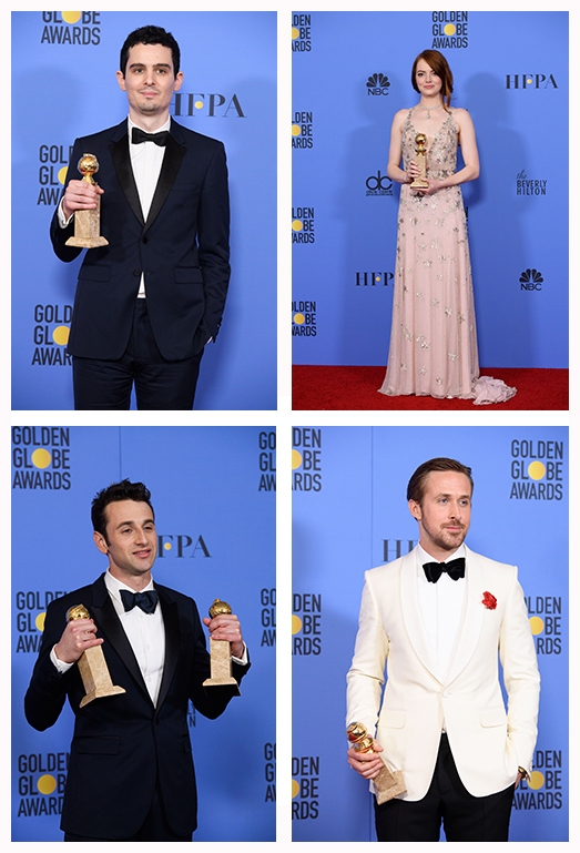 Hollywood Foreign Press Association | LA LAND wins 7 Golden Globe Awards