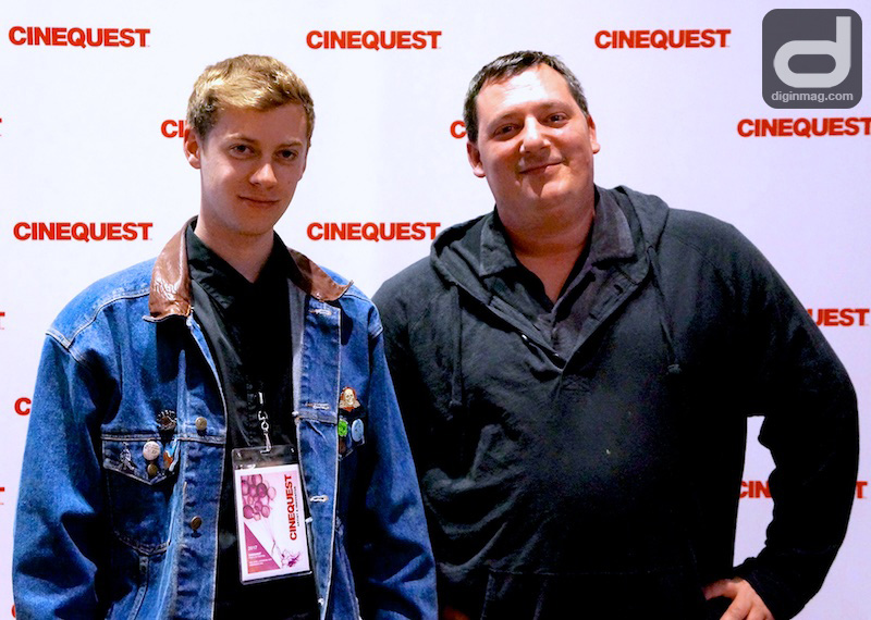 Cinequest | Director Patrick Mattes and Producer Jacob Ohlhausen of DISAFFECTED YOUTH