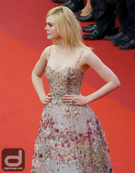 Elle Fanning on the Cannes Film Festival 2017 Red Carpet