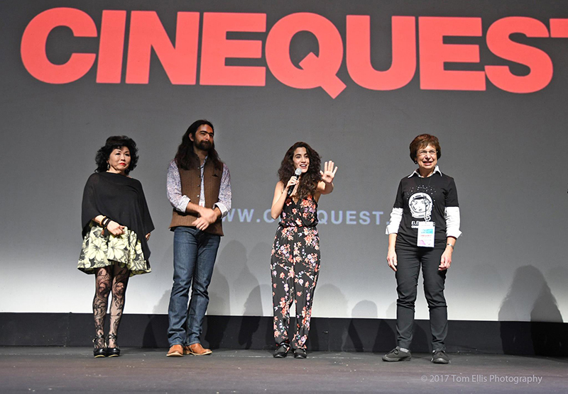 Lissette Feliciano WITH CHILDREN post-screening Q&A at 2017 Cinequest Film & VR Festival