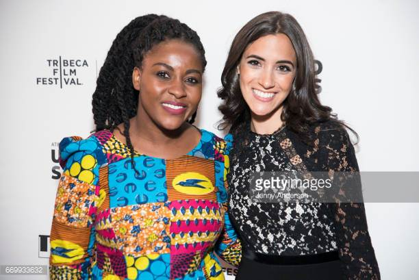 NEW YORK, NY - APRIL 18: Priscilla Anany and Lissette Feliciano attend 2017 Tribeca Film Festival Untold Stories Program Luncheon at Thalassa on April 18, 2017 in New York City. (Photo by Jenny Anderson/WireImage)
