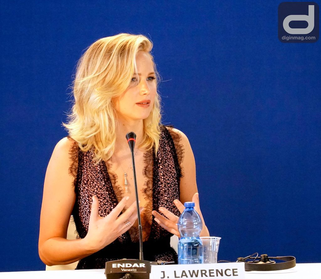 MOTHER! Press Conference | Venice Film Festival 2017 | Jennifer Lawrence | Photo: Cindy Maram/Dig In Magazine