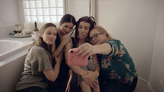 'Bare': Marking the moment with a selfie | Photo credit: Kerith Lemon Productions