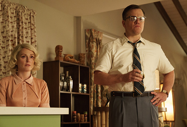 Jullianne Moore and Matt Damon | SUBURBICON | Paramount Pictures